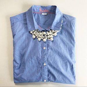 Boden Blue Button down Shirt.